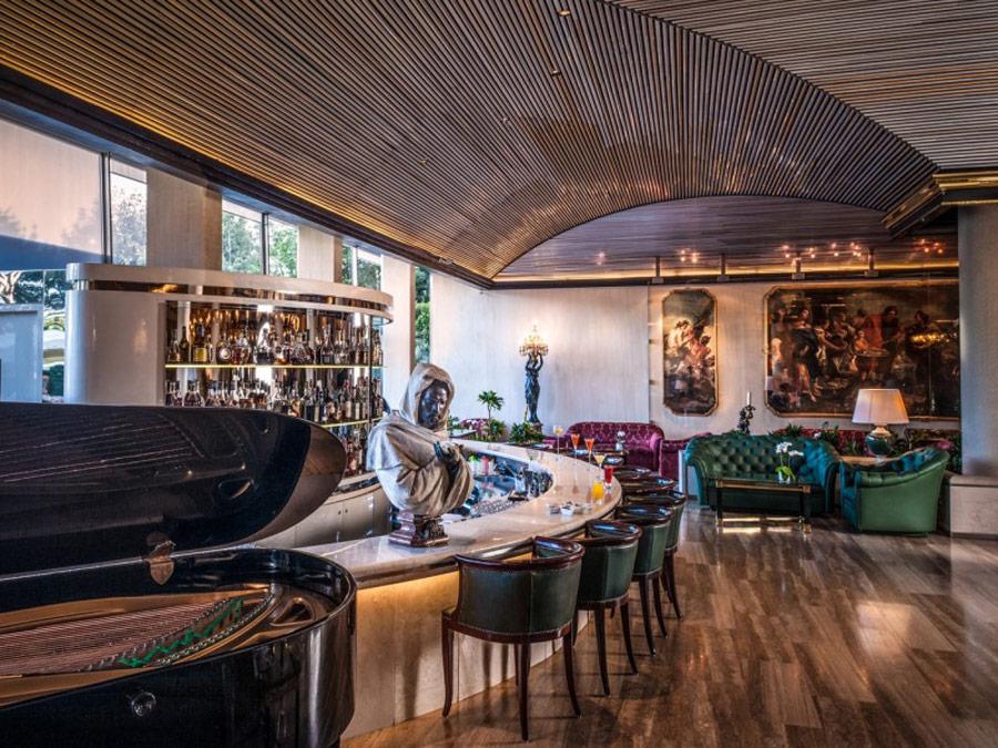 Bar Tiepolo, del hotel Rome Cavalieri