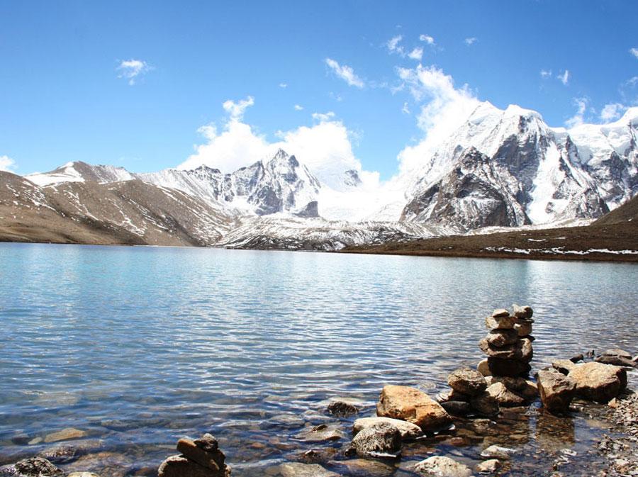 Lago Gurudongmar, Sikkin, India