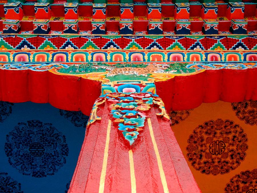 Monasterio de Rumtek, Sikkin, India