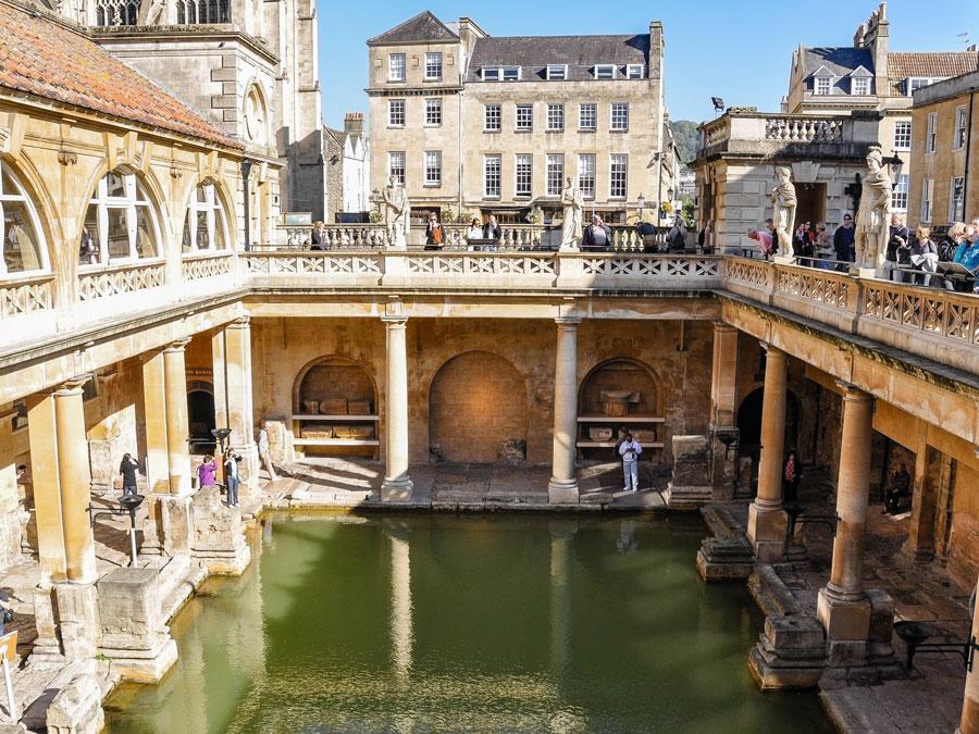 Termanas romanas de Bath, Inglaterra