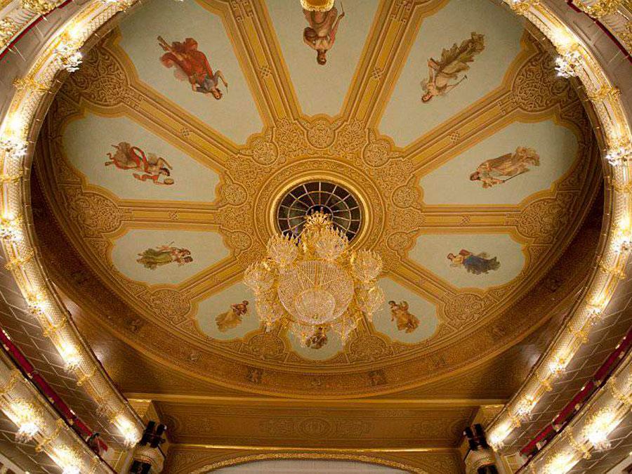 Techo del Auditorium, Teatro Bolshói