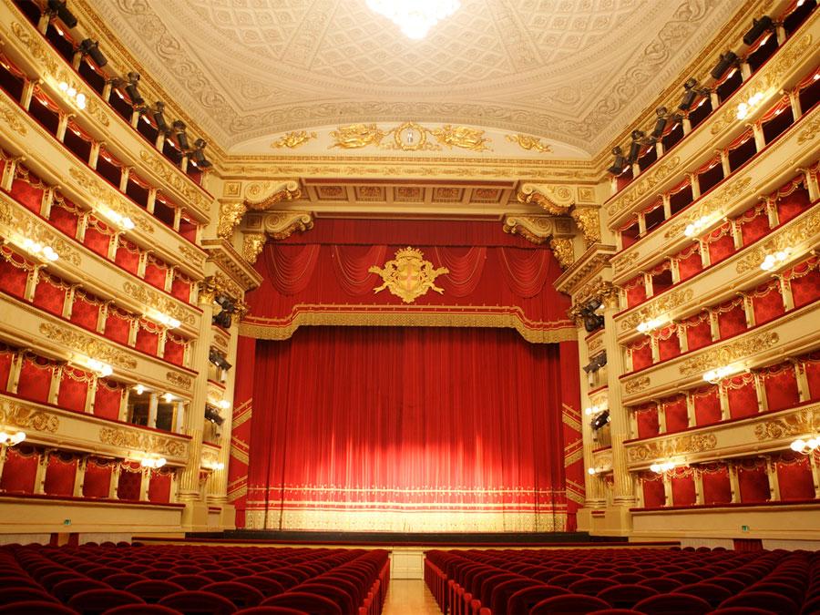 Sala principal del Teatro Bolshói, Moscu