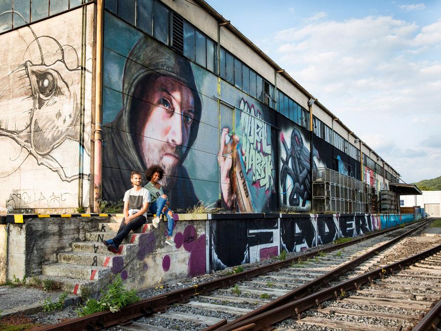 Mural Harbo, Linz
