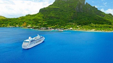 Princess Cruises en la Polinesia Francesa