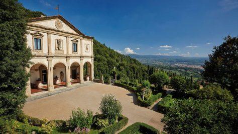 Exterior de Villa San Michele, hotel en Florencia