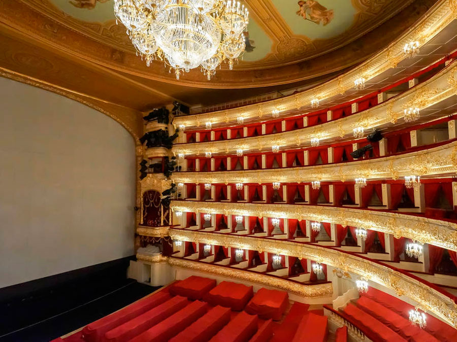 Auditorium, Teatro Bolshói