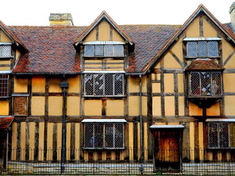 Casa natal de Shakespeare en Stratford