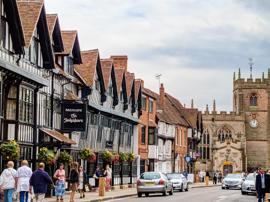 Calle principal en Stratford-upon-Avon