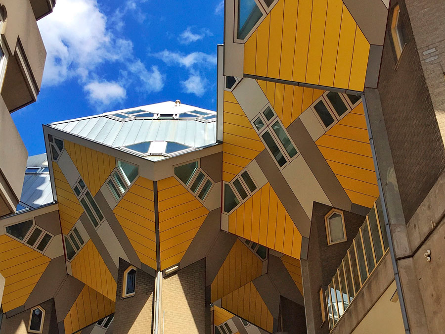 Casas cúbicas en Rotterdam