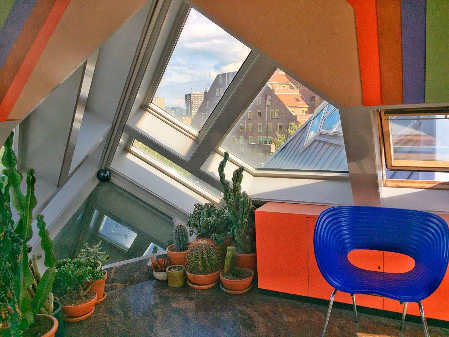 Interior Casas cúbicas en Rotterdam