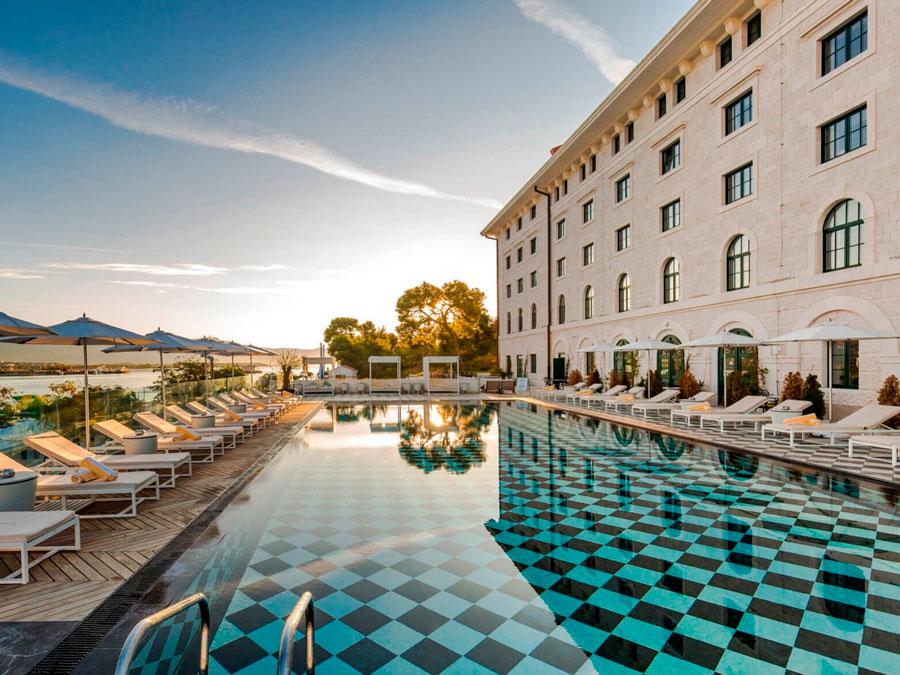 Hotel Brown Beach, en Troigir, Croacia