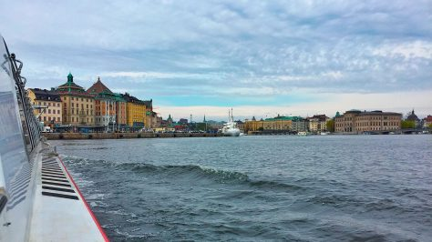 Vista de la ciudad de Estocolmo.
