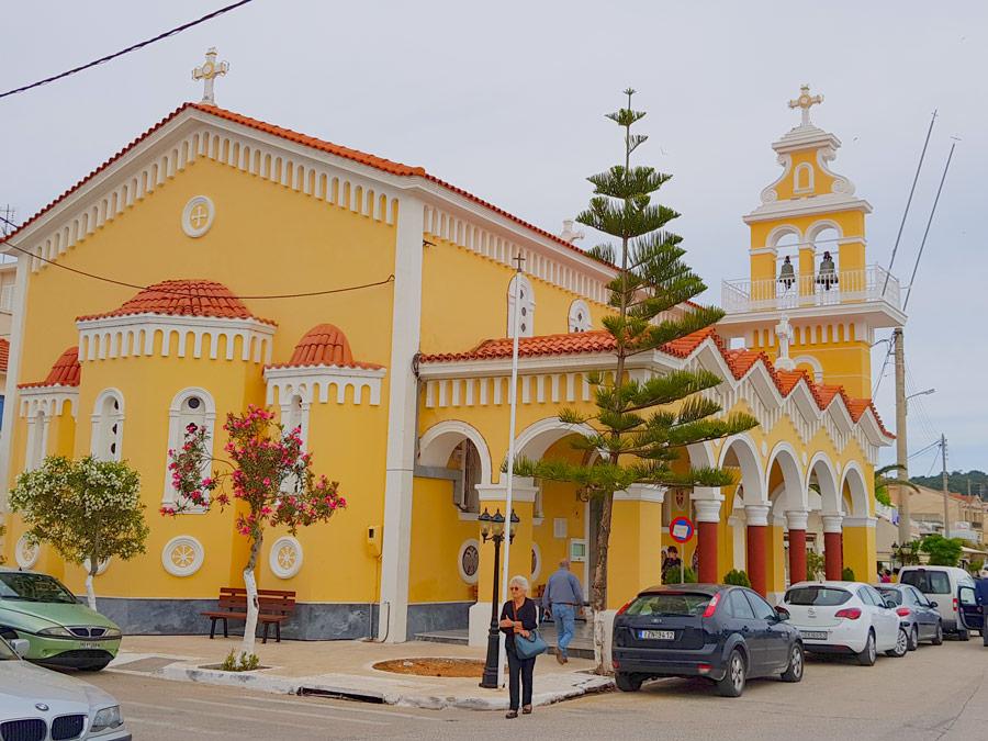Iglesia Ortodoxa en el centro de Argostoli
