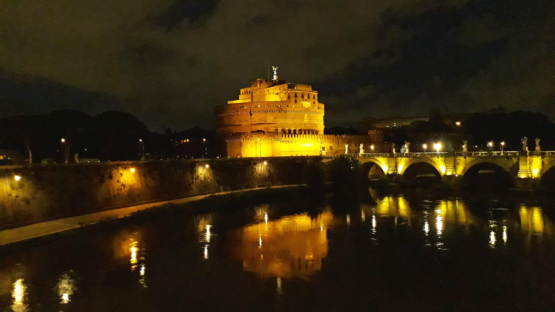 Vista del Castel Sant´ Angelo