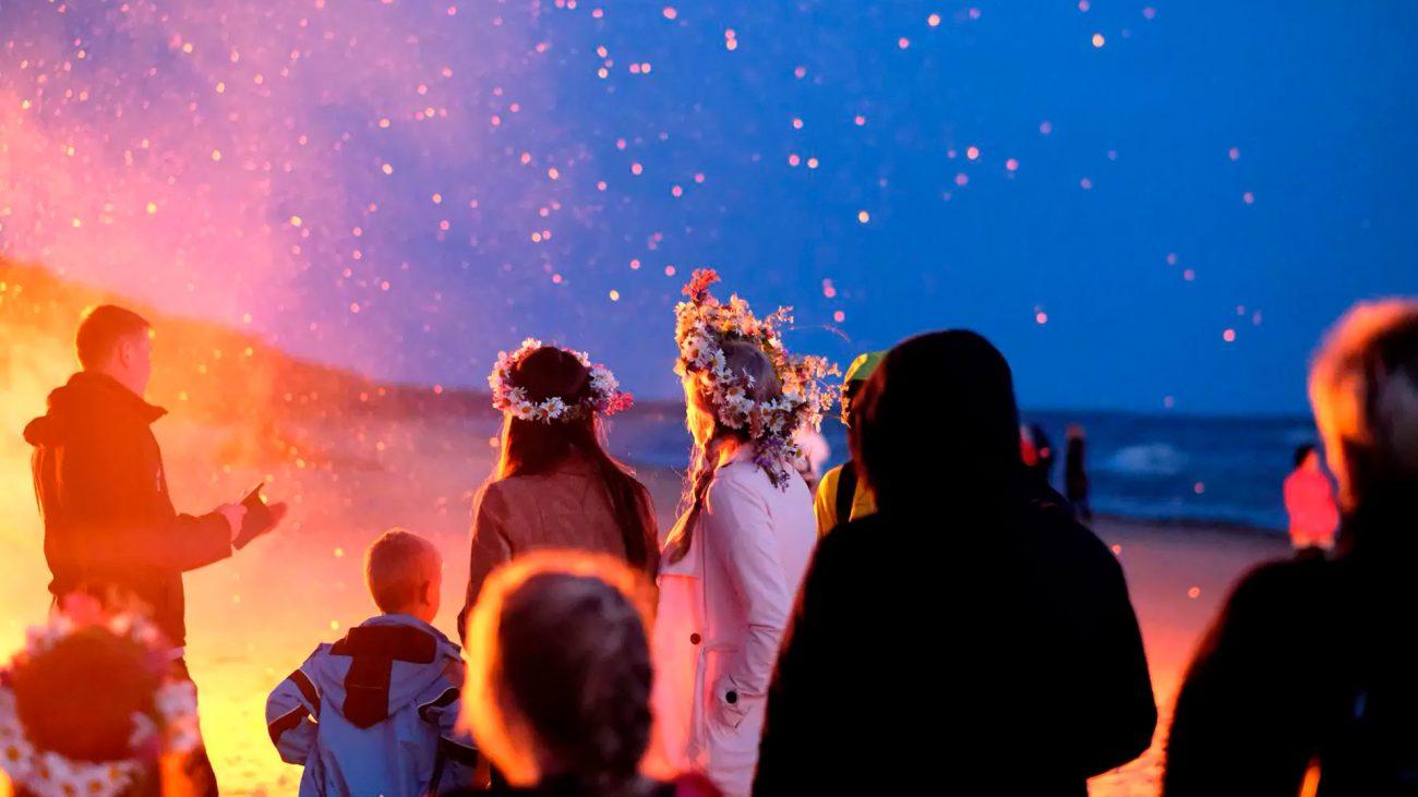 Festival del Solsticio de Verano. Jani en Letonia
