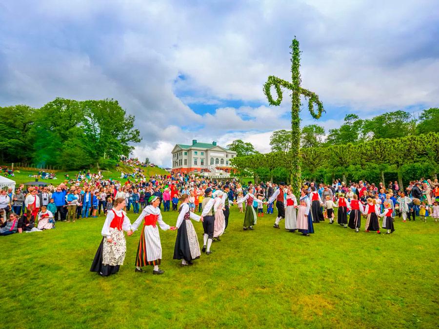 Festival del Solsticio de Verano, Suecia