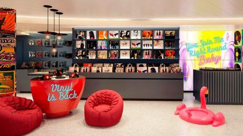 Vinyl. El negocio de discos a bordo del Lady Scarlet, Virgin Voyages