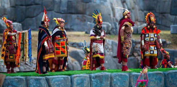 Ceremonia Inti Raymi en Cusco