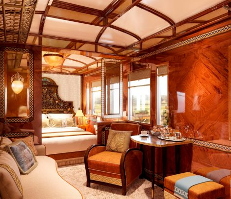 Orient Express. Grand Suite Budapest.