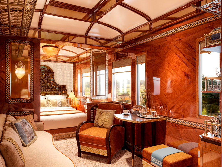 Orient Express. Grand Suite Budapest