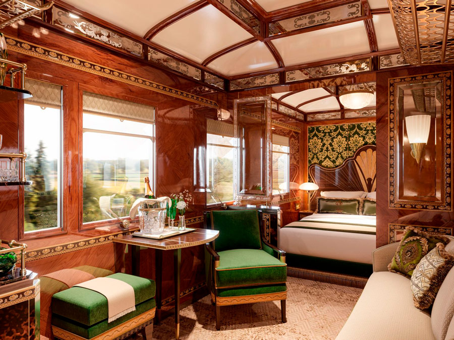 Orient Express. Grand Suite Vienna