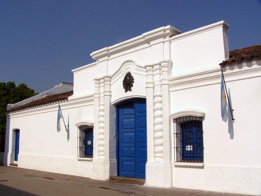 Exterior de la Casa de Tucumán