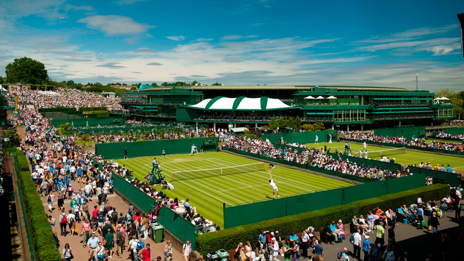 Wimbledon - All England Lawn Tennis and Croquet Club