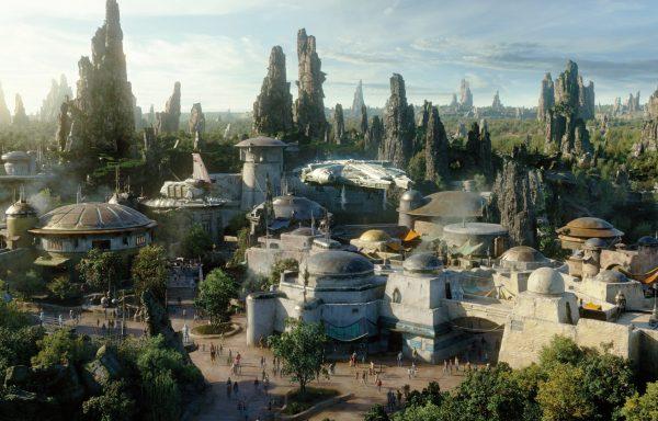 Disneyland. Galaxys Edge. Star Wards