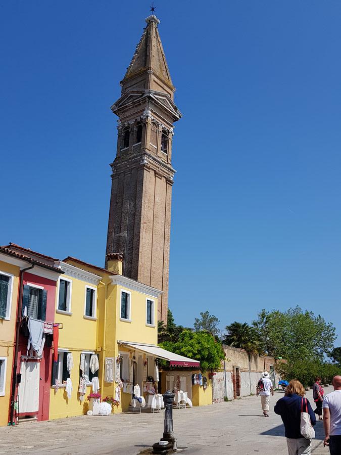 Campanile inclinado de San Martino, Burano