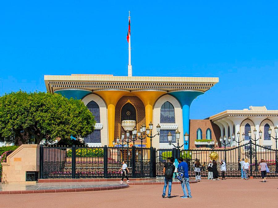 Palacio Al Alam en Muscat