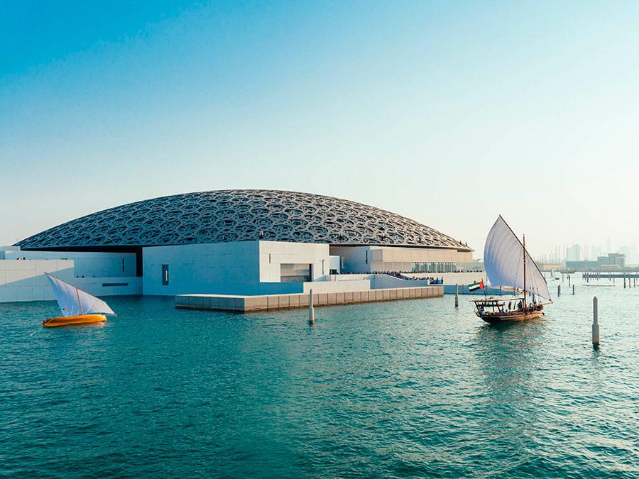 Museo del Louvre en Abu Dhabi