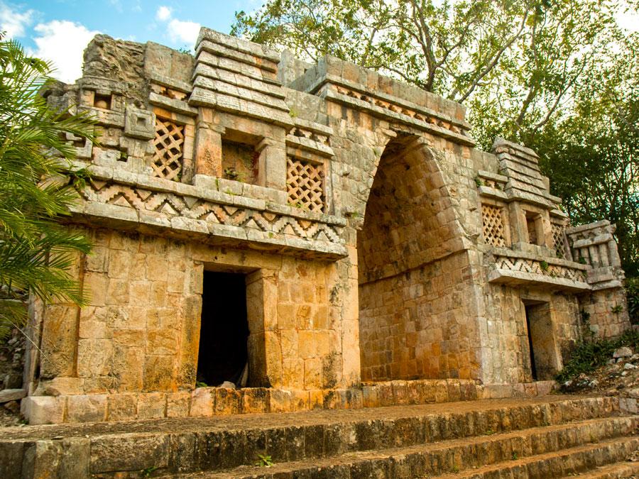 Ruinas de Labná, ruta Puuc