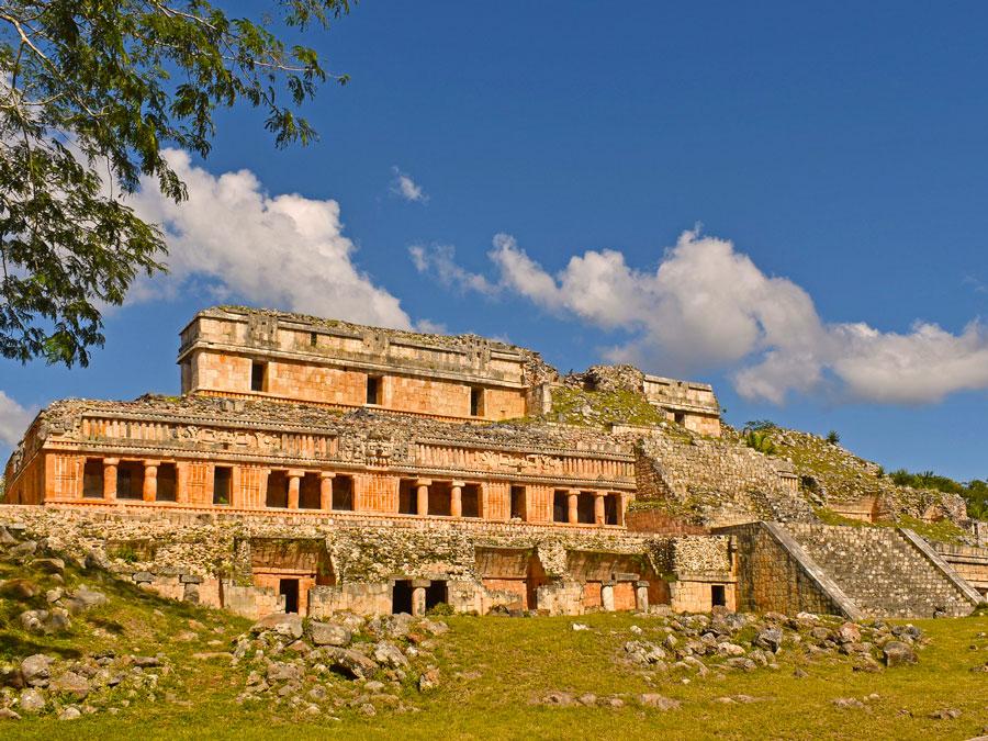 Ruinas de Sayil, ruta Puuc