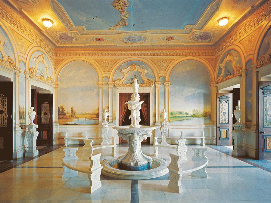 Salón en el Taj Falaknuma Palace, Hyderabad