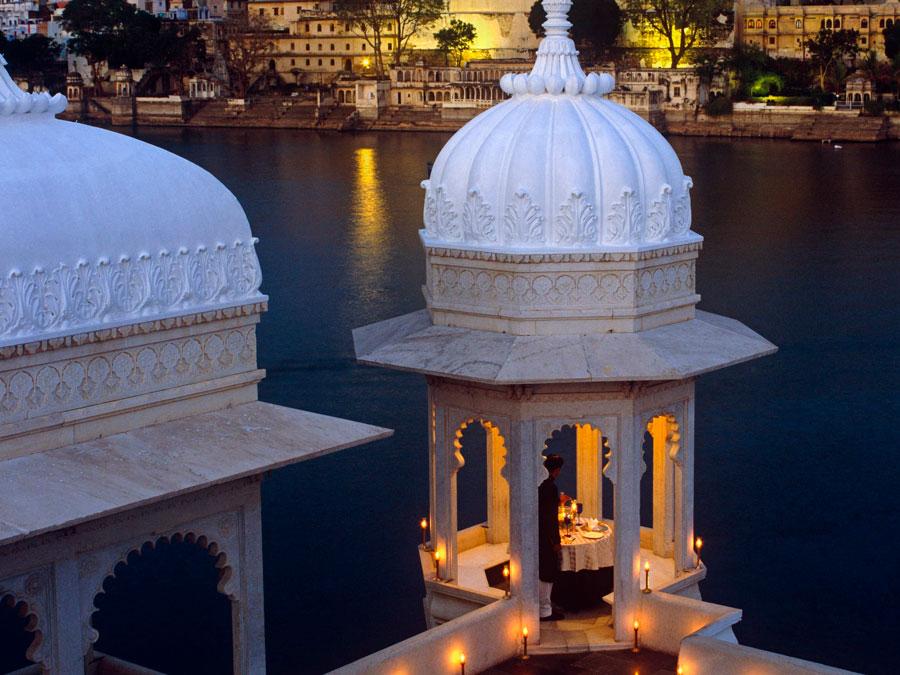 Taj Lake Palace en Udaipur