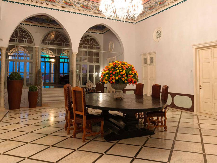 Salones del hotel boutique The Efendi