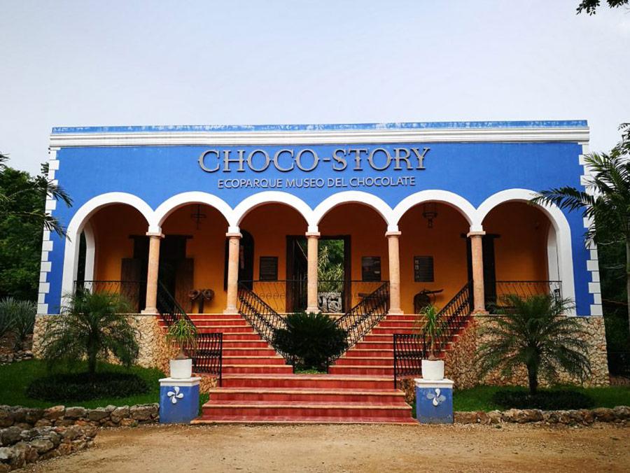Choco Story, Uxmal, Mexico