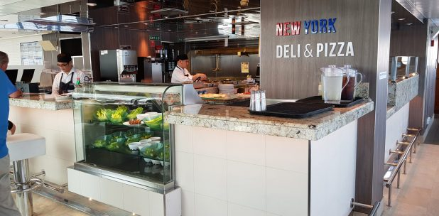 New York Deli and Pizza - Koningsdam