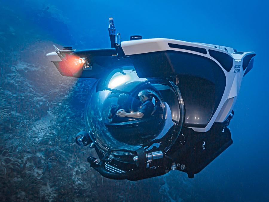 Scenic Neptuno, el submarino