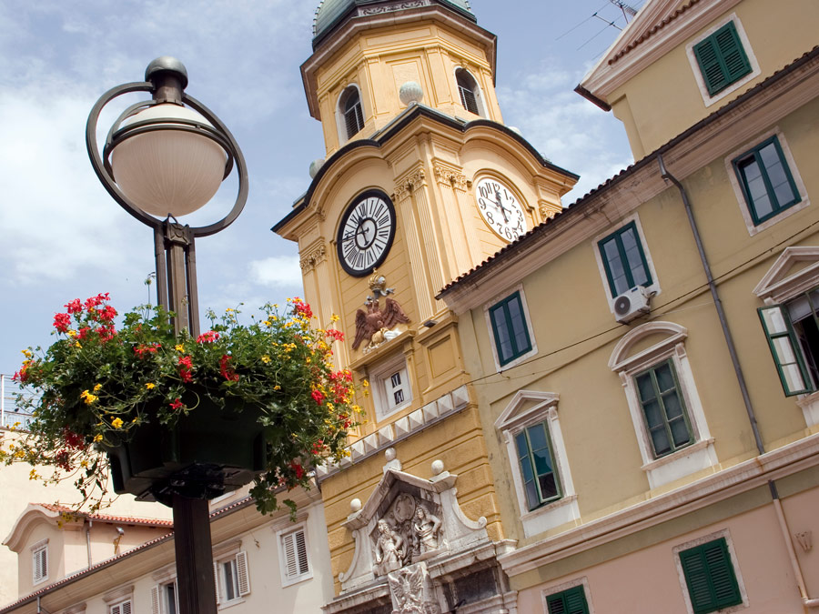 Gradski Toranj en Rijeka Croacia