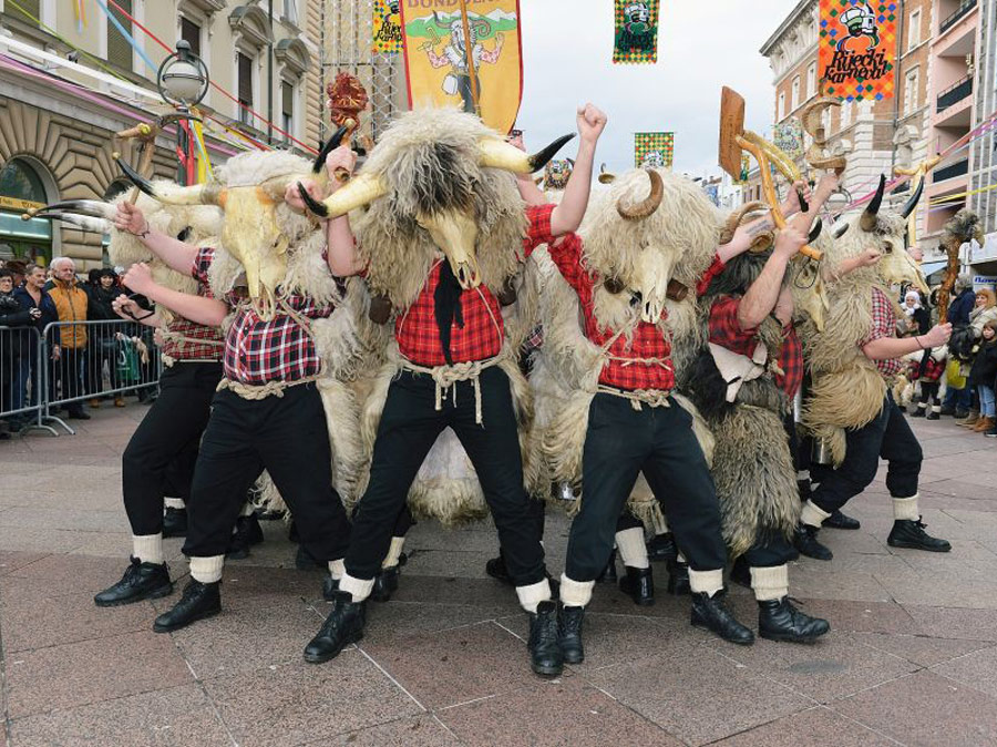 Zvoncari rijecki, Carnaval de Rijeka