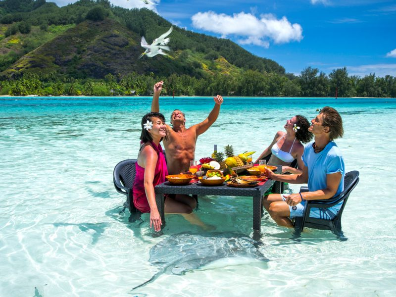 Moorea. Foto gentileza Turismo Tahití