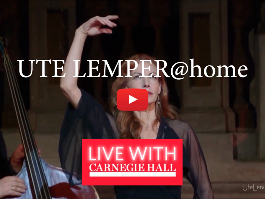 Ute Lemper Carnagie Hall