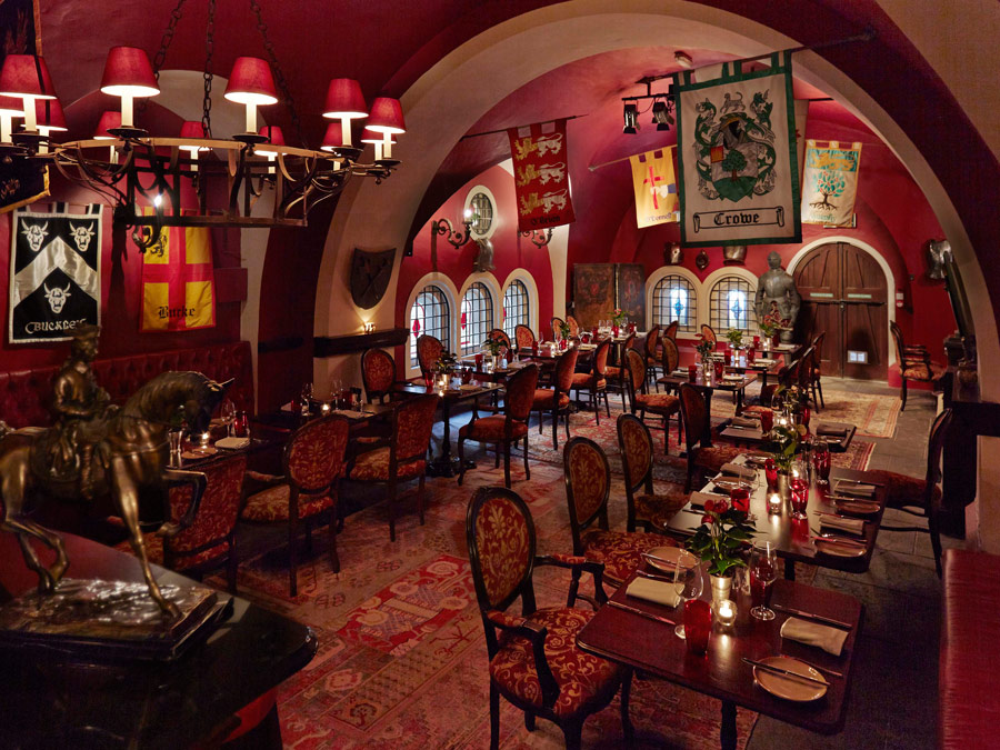 Ashford Castle Dungeon Bar