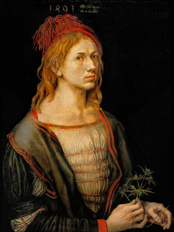 Alberto Durero Autorretrato, 1493