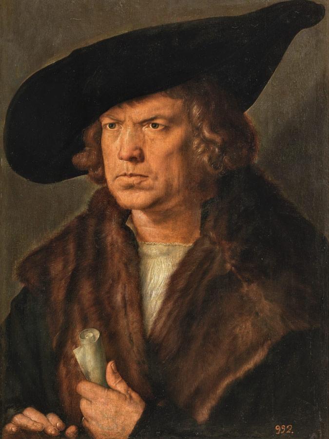 Alberto Durero Retrato de hombre