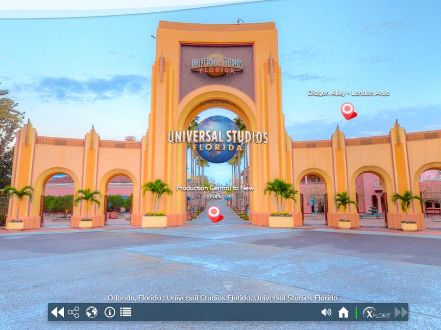 Orlando Virtual. Universal Studios