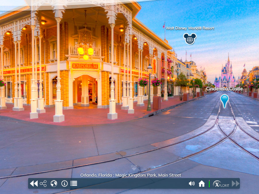 Orlando Virtual. Visita Walt Disney Word.