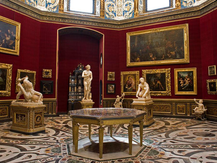 Galeria de Uffizi, Florencia, Italia