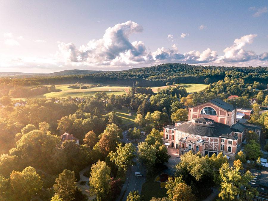 Bayreuth Festspielhaus, Alemania